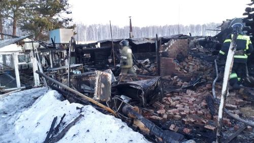 Ночная трагедия. В Аргаяшском районе при пожаре погибла пожилая женщина