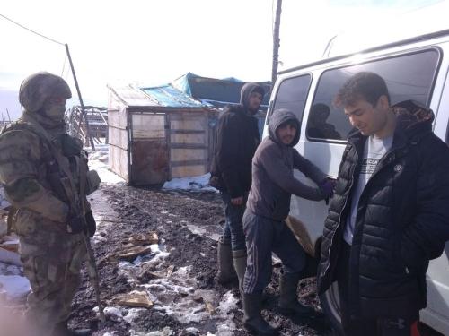 Кончай работу! Аргаяшские правоохранители пресекли незаконную трудовую деятельность мигрантов