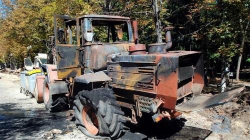 Чирк! – и трактора нет. Иногда из искры может получиться не только пламя, но и уголовное дело
