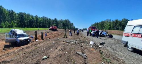 Навстречу смерти. В ДТП в Аргаяшском районе погиб водитель легковушки